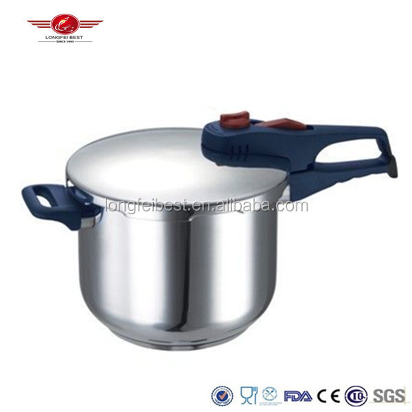 Stainless steel large high pressure cooking pot