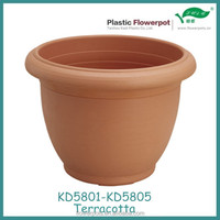 Terracotta pots KD5801-KD5805 decorative Plastic flower pots