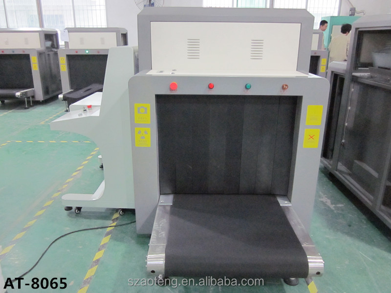 Large Channel security inspection x-ray luggage or cargo or baggage scanner machine (AT-8065)