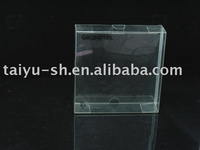 clear PET folding packaging box