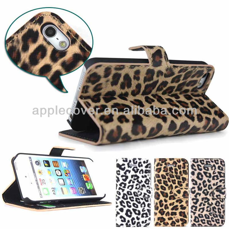 "For iphone 5"" original, for iphone 5s leopard case"