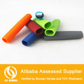open at both ends customer made durable silicone protect rubber handle grip