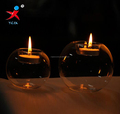 Grooving Ball Glass Candle Holder For Tealight