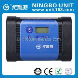 Metal digital air pressure gauge tyre air inflator