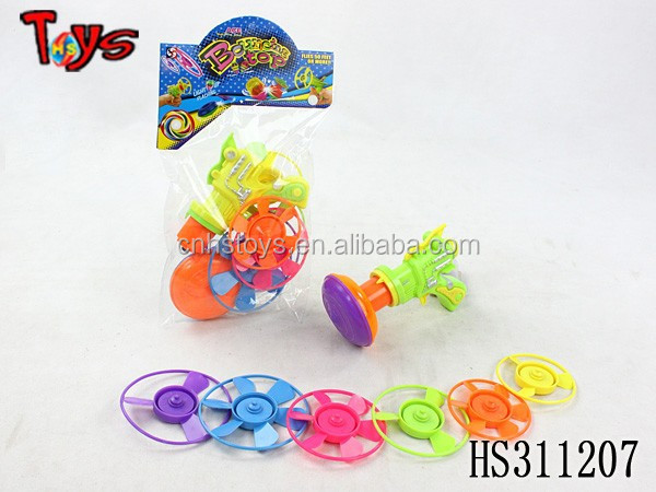 intelligent super plastic spinning top toy games for kids