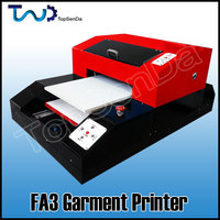 Full size 8 color T-shirt printing machine direct dtg printer a3