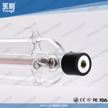 Longlife stable output power 130W co2 laser tube for laser engraving and cutting machine