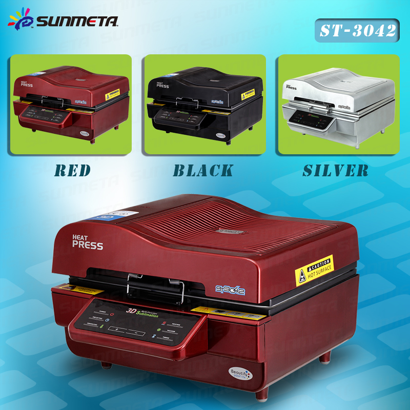 Sunmeta 2015 newest drawer type t-shirt heat press machine, automatic sublimation
