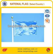 HOT SELLING 100% POLYESTER UNITED NATION FLAG