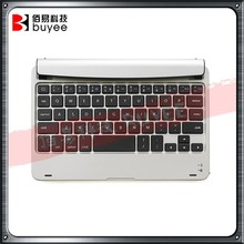 Original For iPad Mini 1 2 3 Wireless Keyboard Layout Silver Color