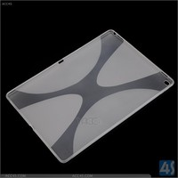 for iPad Plus cover, x type gel tpu back cover for ipad plus