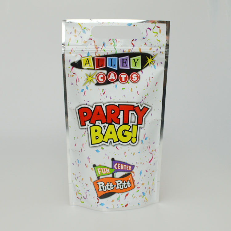custom logo printing laminated plastic stand up zip lock aluminum foil bag for food packaging