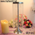 2018 New design Wholesale crystal centerpiece for wedding event&party;Silver crystal centerpiece weddings decoration(MCP-012)