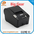 58mm POS receipt printer for restaurant&kitchen, Android tablets connected USB 58mm pos printer