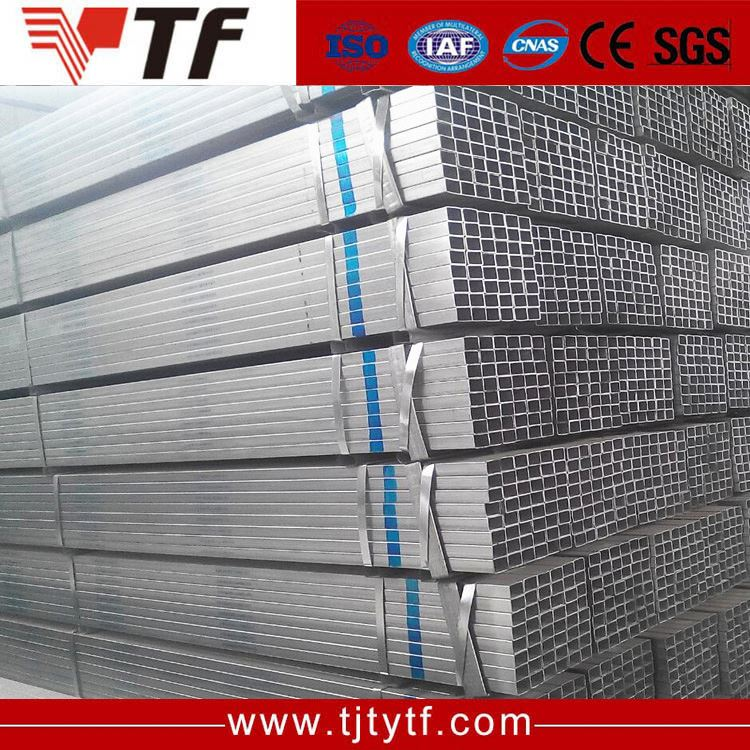 China steel mills Low price furniture 3 x 3 inch galvanized square steel pipe