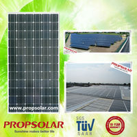 PROPSOLAY High efficiency factory hottest selling Flexible 300w 24v mono solar panel From China