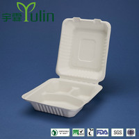 Big bagasse food container