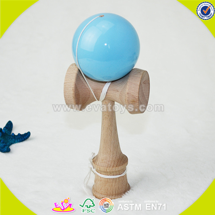 wholesale kids wooden kendama usa custom baby wooden kendama usa popular children wooden kendama usa W01A081