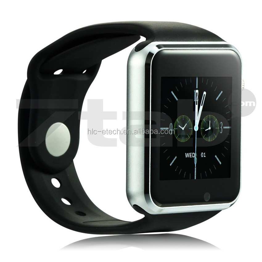 New Bluetooth A1 Smart Watch Wristphone Sport Watches For Apple iPhone 6 Samsung S4/Note 2/Note 3 HTC Android/IOS Phone