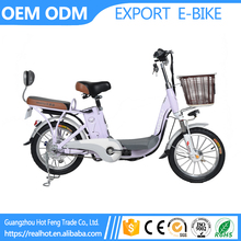 High Carbon Steel Frame 48V 8A Li Battery 16 inch Ladies Bicycle Pure Electric City Road mini bikes for sale malaysia