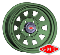 size 17x8 inch classic 4x4 steel wheel rims for toyota