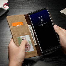 CaseMe smart Phone Wallet Style PU Leather Case for Samsung Galaxy Note 8 magnetic stand cover