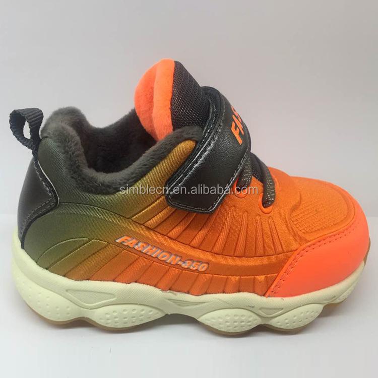 Pas cher mode coloré enfants chaussures bébé sport chaussures de marche en plein air en vrac