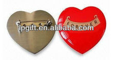 2013 hot sale and new arrival OEM and ODM heart shaped brad