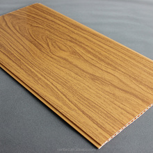 Hot sale Interior laminated pvc wall panelling pvc ceiling panel low price good quality with wood look