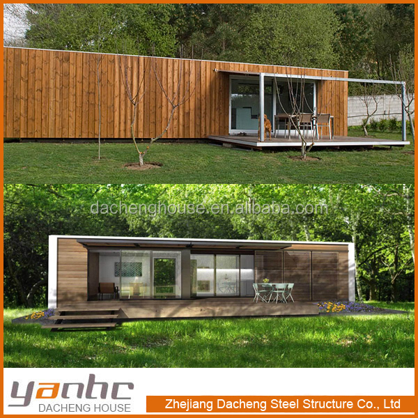 YANHC 20ft 40ft luxury prefabricated living container mobile home