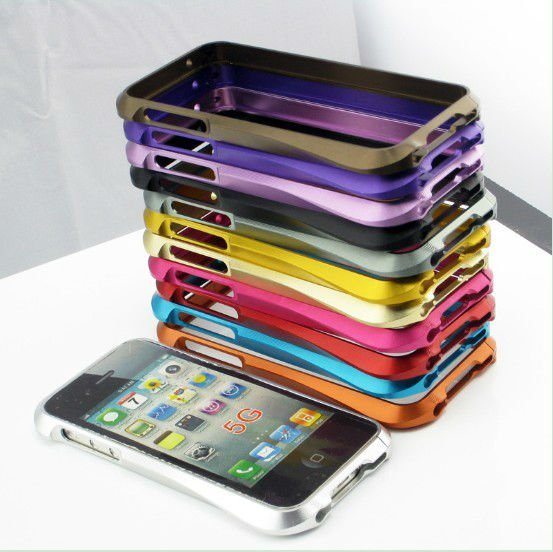 Ultra thin cleave aluminum bumper for iPhone 5