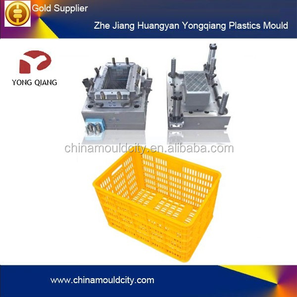 Different type of Plastic Turnover Crate injection Mould/mold