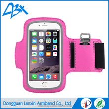 Sports wholesale pink color outdoor sports armband case for samsung i9295 galaxy s4 active