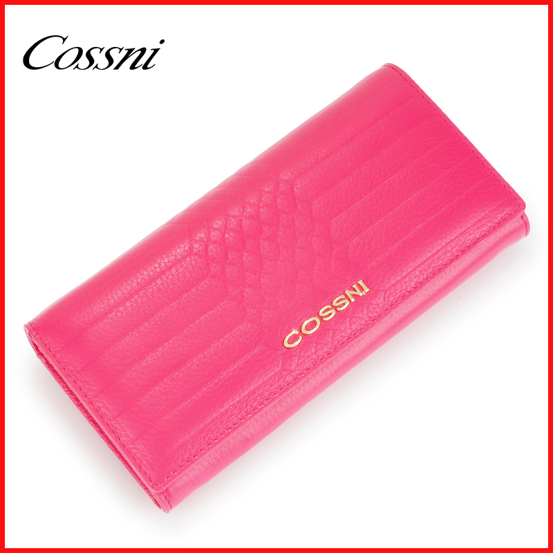 2016 Fashionable Genuine Leather Wallets For Lady Women Long Wallets famouse brand design purse