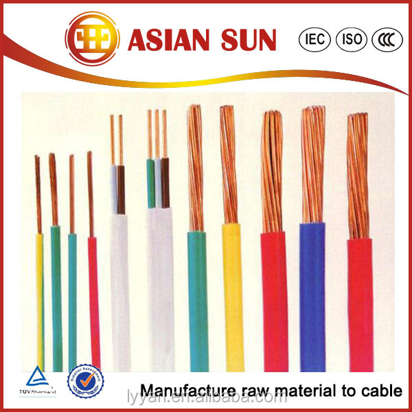 Self-Supporting Ul 83 450/750V Pvc Insulated Electrical Wire Prices