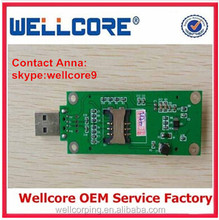 China Cheap Wholesale Mini PCI to USB Adapter Card With SIM Card Slot Test Module !