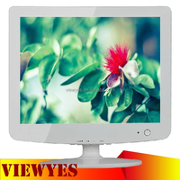 15 inch Computer LCD Monitor with AV RCA Video Input