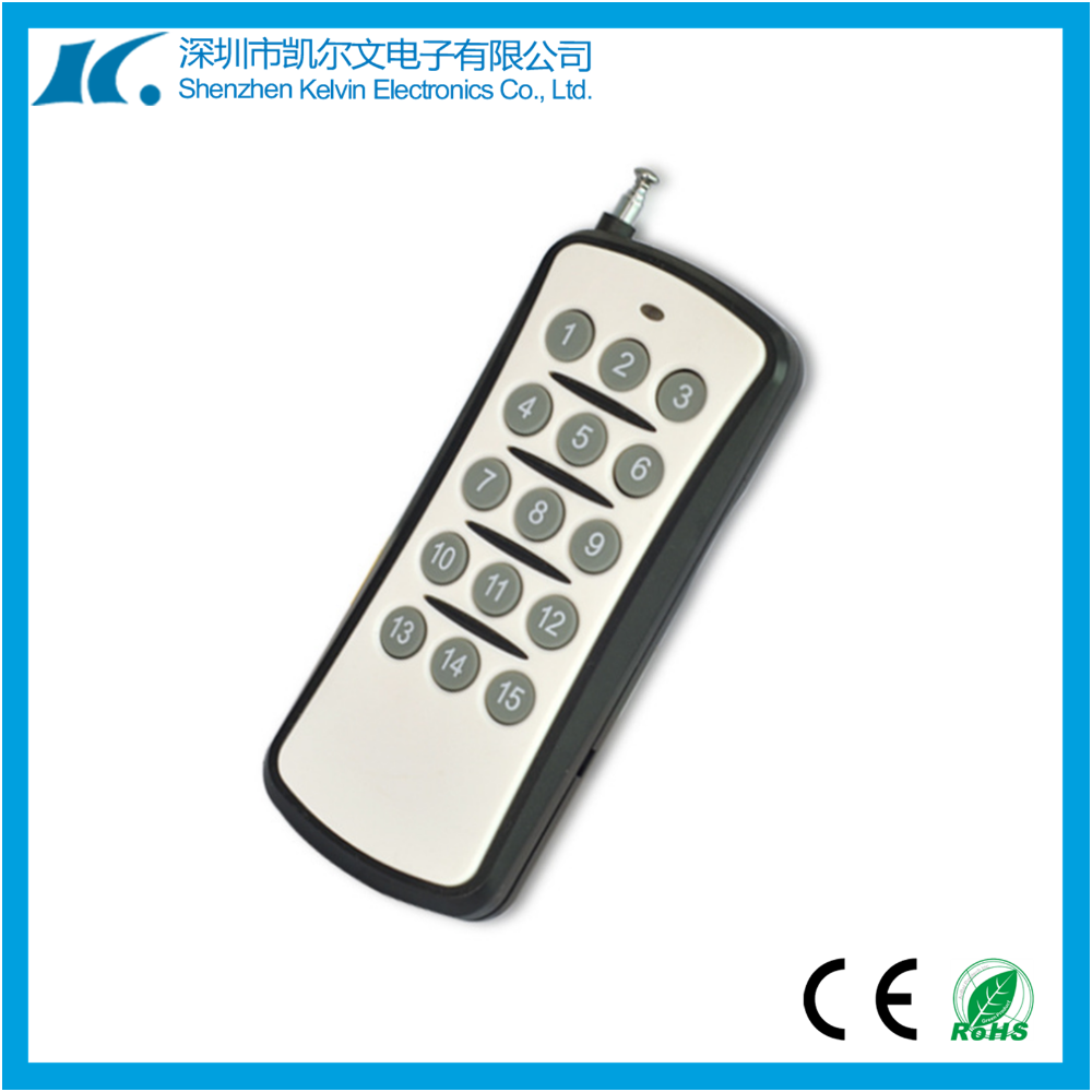 Long range RF wireless remote control transmitter