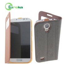 Great quality best brands mobile phone leather case for Samsung Galaxy S4 I9500