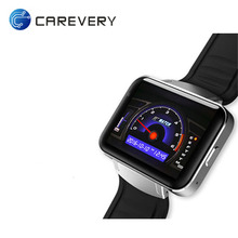 Smart Watch 2.2 inch Android 4.4 OS 3G Smartwatch Phone MTK6572A Dual Core 1.2GHz 4GB ROM Camera WCDMA GPS