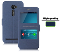 New Ultra Slim Clear Window Flip PU leather Case Cover For ASUS ZenFone 5