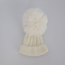Winter Knit <strong>Cap</strong> Knitting Baby Hats Winter Girl Boy <strong>Caps</strong> Lovely Kids Woolen Newborn Hat