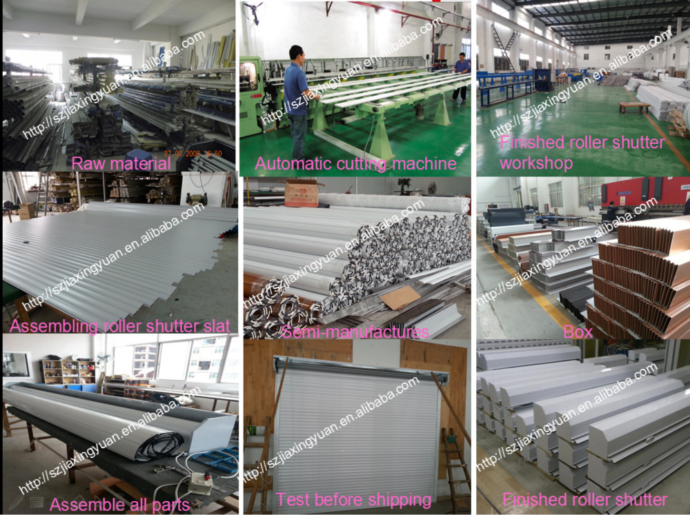 Automatic Hurricane Customized Roll up Shutter Manufacturer