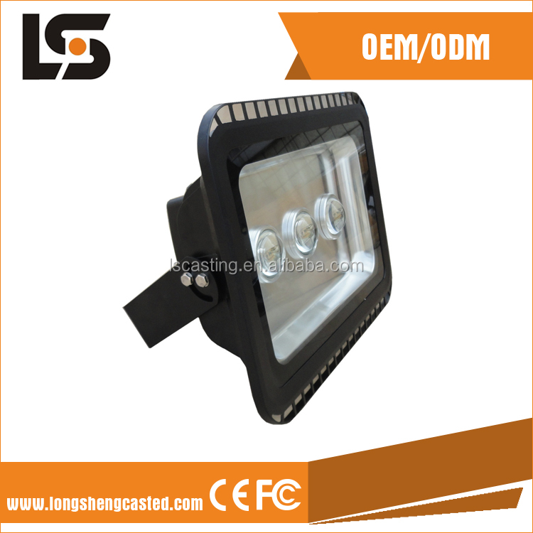 Economical Outdoor COB LED Flood Light Housing Tunnel Lamp Aluminum Floodlight Housing