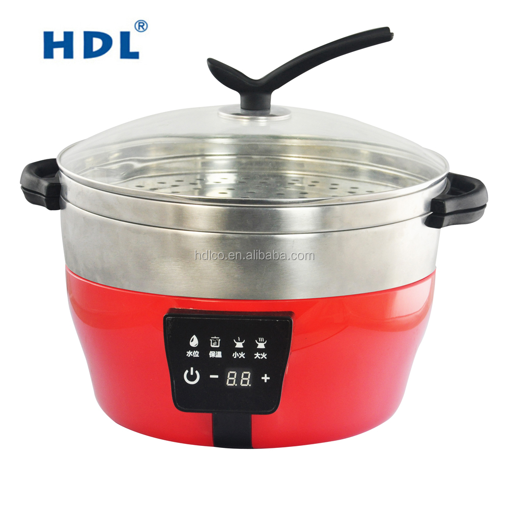 China factory 2017 electric food display steamer with LCM display