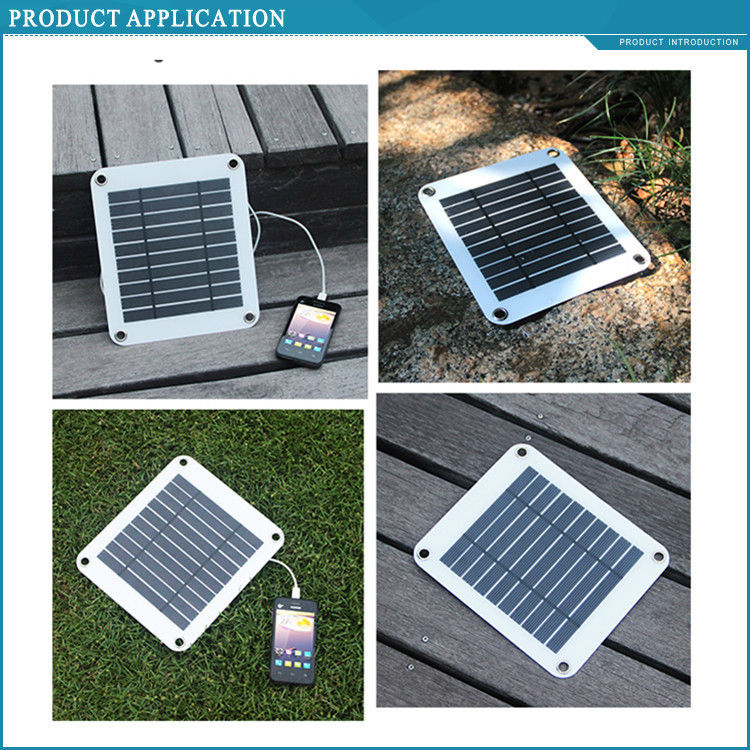 5w small semi flexible low price mini solar panel for mobile