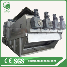 eco-friendly screw sludge dewatering for oil slurry