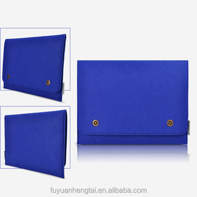 Fashion High Quality Felt Laptop Tablet Case