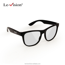 Popular 3D Circular Glasses for Theatre/3D Cinema Modulator Glasses /Cheap 3D Glasses for Cinema , TV, PC