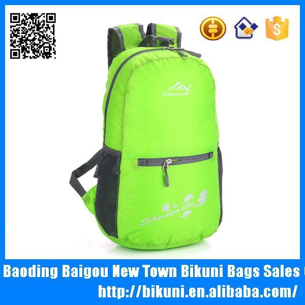 China wholesale cheap students hiking back pack bags girls nylon outdoor sports backpack